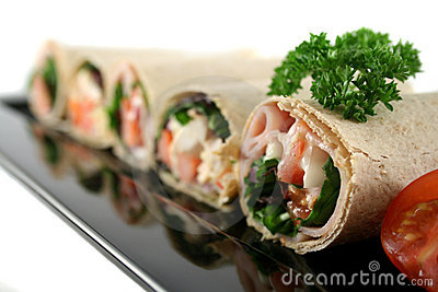 Mixed Wrap Platter 3