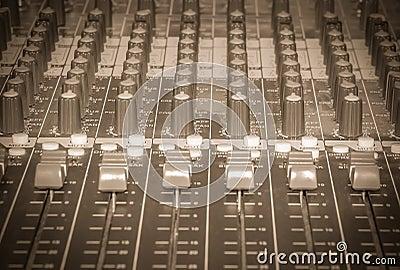Mixer DJ vintage