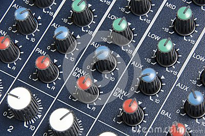 Mixing Board Knobs