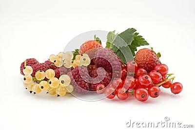 Mixture of fruits