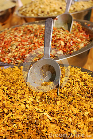 Mixture of various herbs and spices