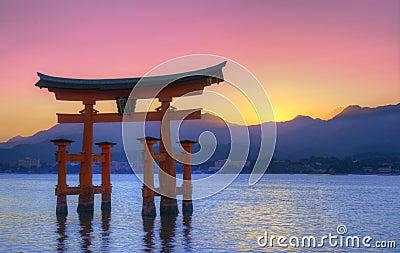 Miyajima torii