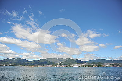 Miyajimaguchi and Hiroshima Bay