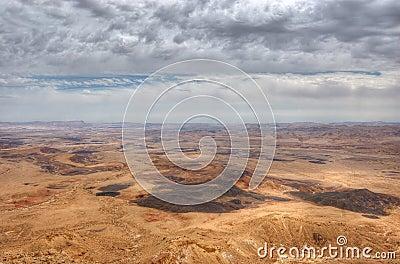 Mizpe Ramon Canyon, Israel