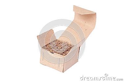 9mm ammo in box