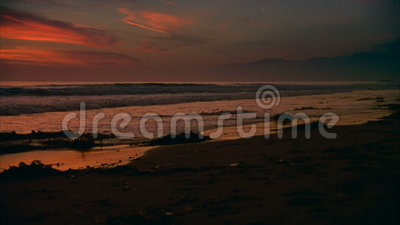 16mm Kalifornien Surfer stock video footage