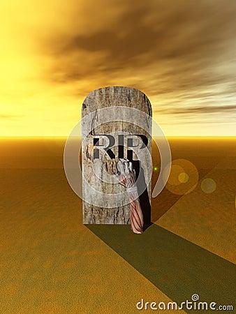 Mão 7 do cemitério