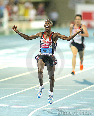 Mo Farah of Great Britain Editorial Stock Photo