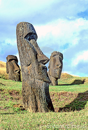 Free Moai- Easter Island Stock Images - 515454