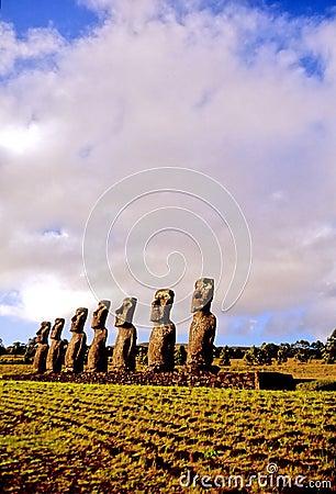 Moai statues- Easter Island
