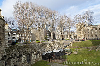Moat of Tower of London