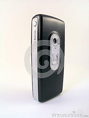 Mobiele telefoon met digitale camera