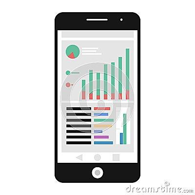 Free Mobile Analytics Icon Royalty Free Stock Photos - 121854778