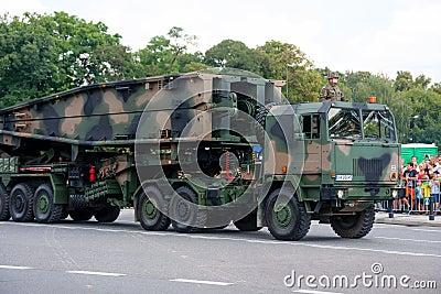 Mobile assault bridge MS-20 Daglezja