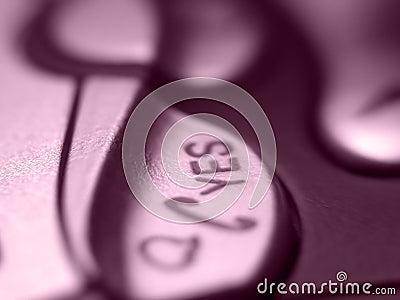 Mobile button