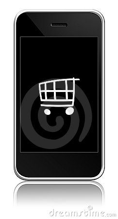Mobile with cart inside