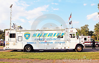 Mobile Command Center Editorial Image