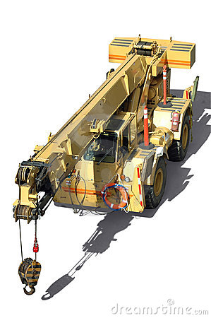 Free Mobile Crane Royalty Free Stock Images - 2684209