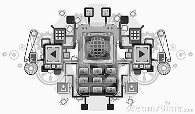 Mobile Device Crest