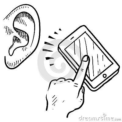 Mobile device sketch