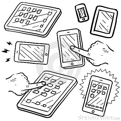 Mobile devices sketch