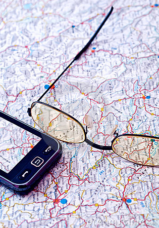 Mobile GPS and map