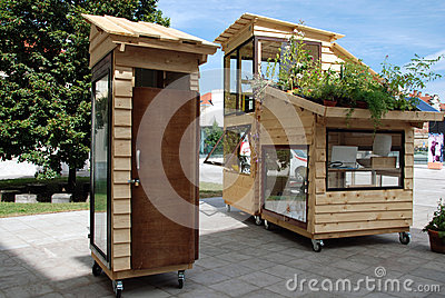 Mobile house Editorial Image