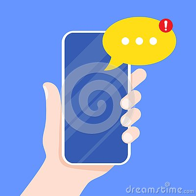Free Mobile Messenger App For Texting Messages Stock Images - 125311254