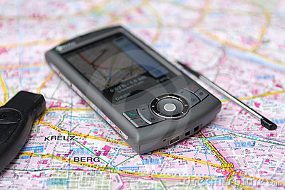 Mobile navigation GPS