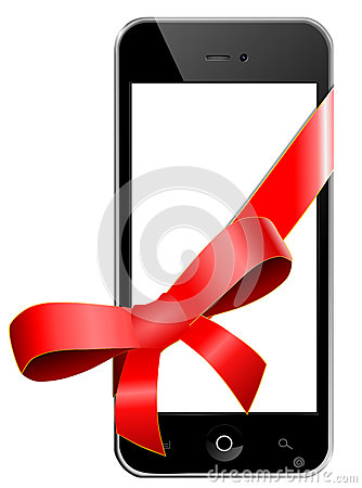 Mobile phone as a gift