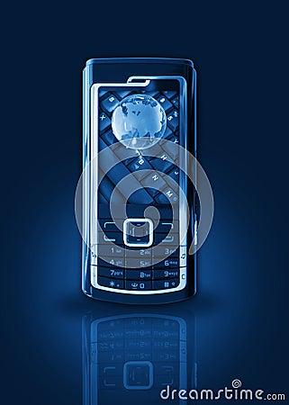 Mobile phone gprs concept