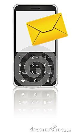 Free Mobile Phone Icon - SMS Royalty Free Stock Photo - 6649245
