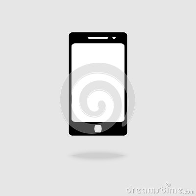 Mobile phone Icon vector flat stlye symbol for graphic design, Web site, social media, UI, mobile upp Vector Illustration