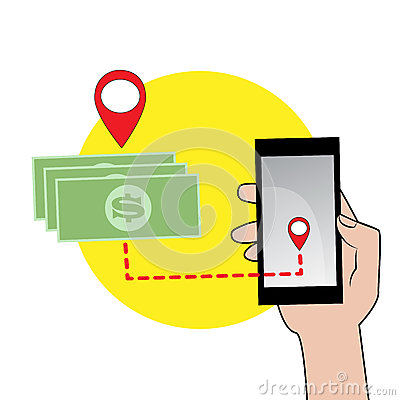Free Mobile Phone In Hand And Money Icon Royalty Free Stock Images - 75821229