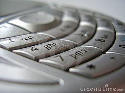 Mobile phone interface