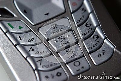 Mobile Phone, Keypad