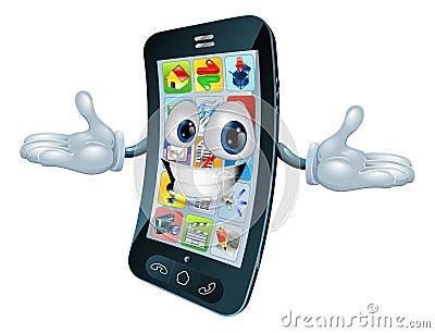Mobile phone man