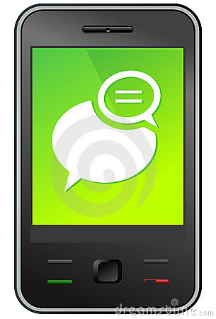 Free Mobile Phone Message Stock Photos - 19449673