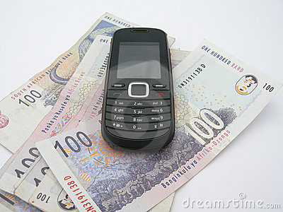 Mobile phone on Rands