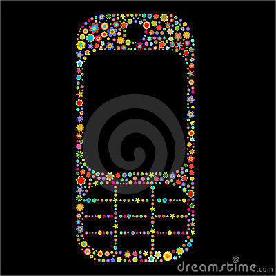 Mobile phone shape