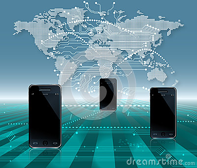 Mobile Phone World Communication