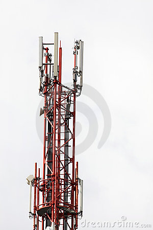 A mobile radio transmitter