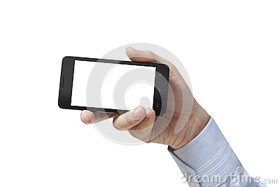Mobile Smart Phone isolated on white