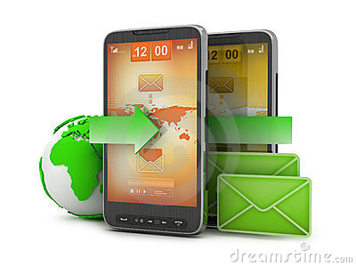 Mobile technology - e-mail on cell phone