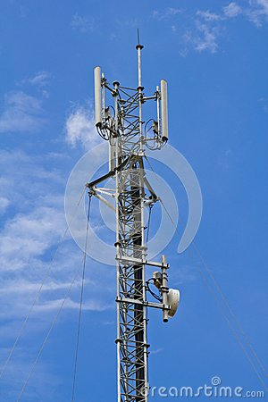 Mobile telephone antenna