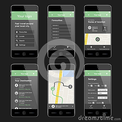 Mobile Application Home Page Design Free Best Images Decorating Ideas.