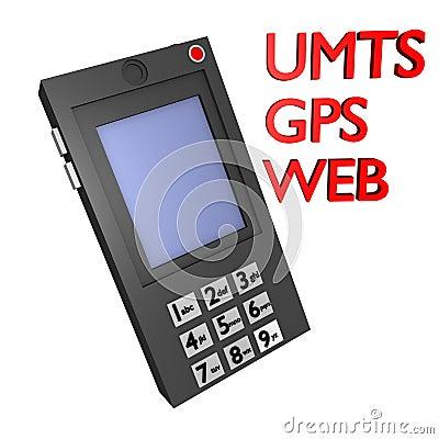 Mobile umts,gps and web 3d