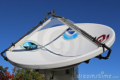 Mobile Weather Communications Dish