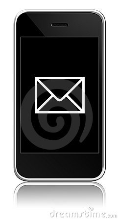 Free Mobile With Envelope Inside Stock Photos - 11347443