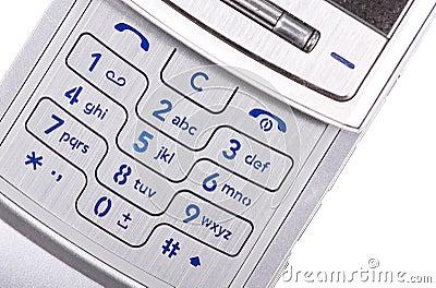 Mobilephone isolated